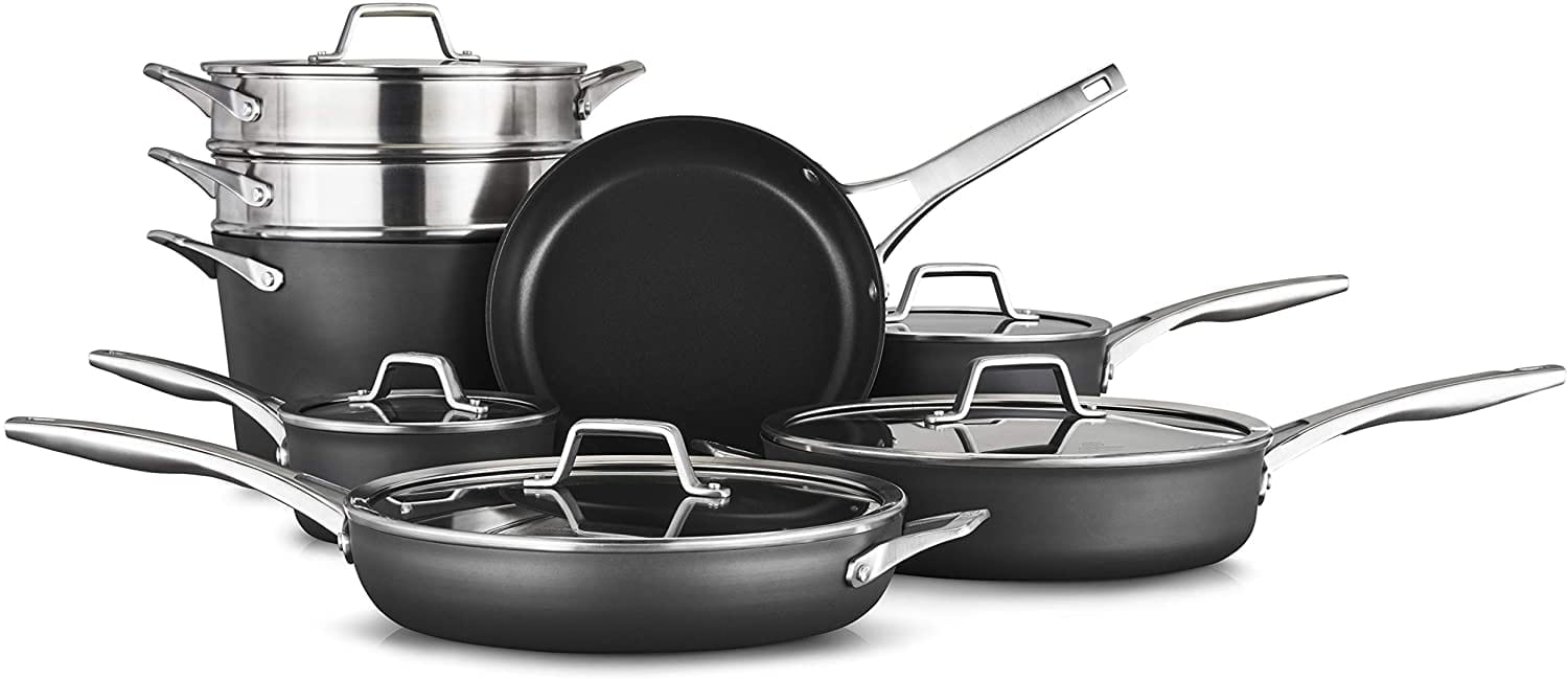 Calphalon 14 piece non-stick cookware set