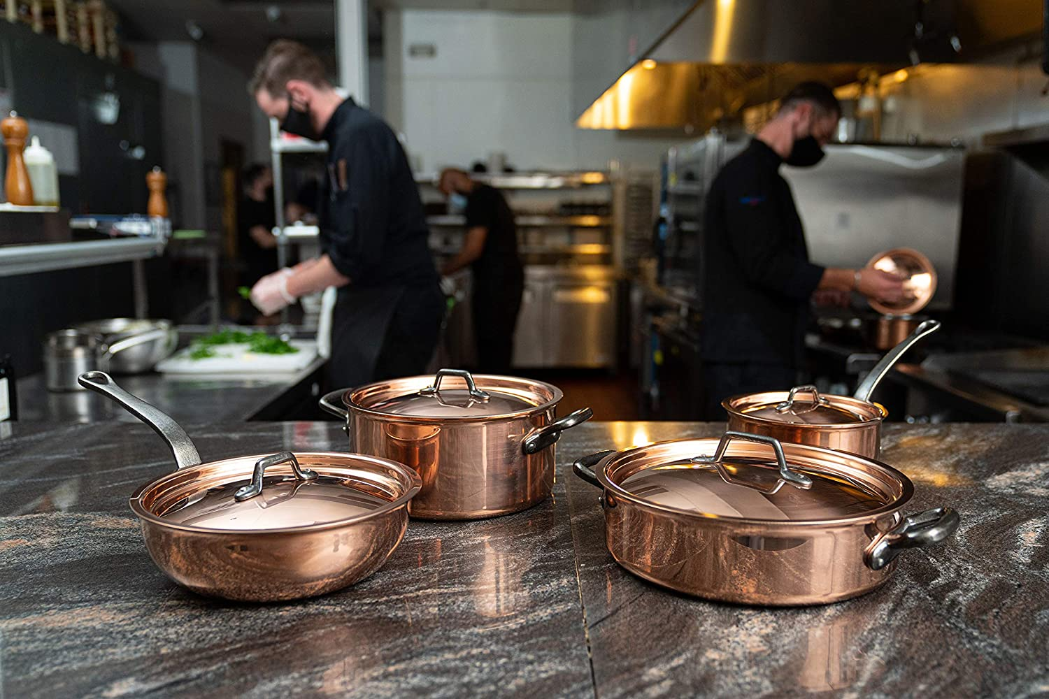 the best copper pots and pan sets
