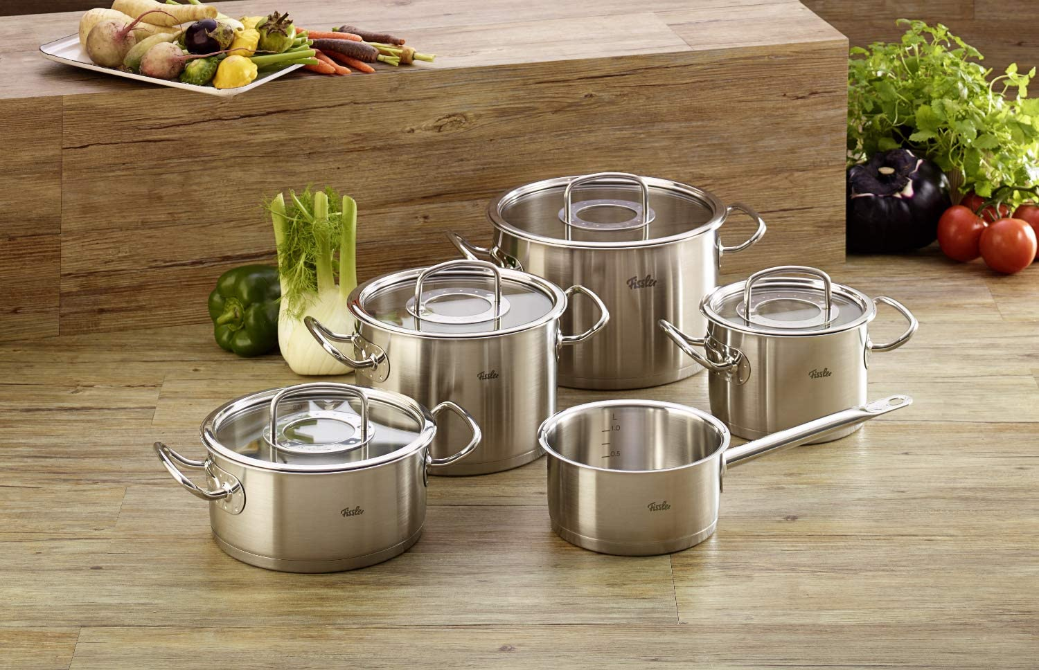 pots and pans for gas